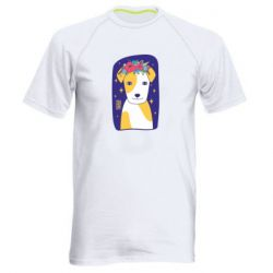 Чоловіча спортивна футболка Український пес