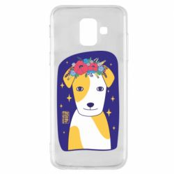 Чохол для Samsung A6 2018 Український пес
