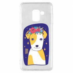 Чохол для Samsung A8 2018 Український пес