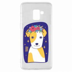 Чохол для Samsung A8+ 2018 Український пес