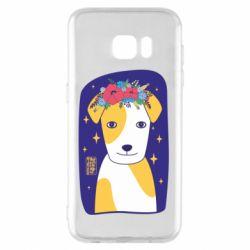 Чохол для Samsung S7 EDGE Український пес
