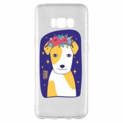 Чохол для Samsung S8+ Український пес