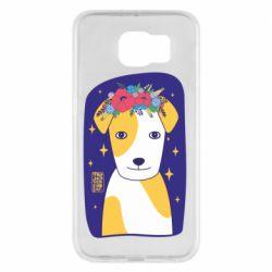 Чохол для Samsung S6 Український пес