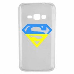 Чехол для Samsung J1 2016 Український Superman - FatLine