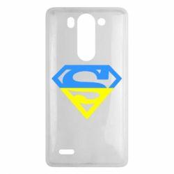 Чехол для LG G3 mini/G3s Український Superman - FatLine
