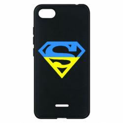 Чехол для Xiaomi Redmi 6A Український Superman - FatLine