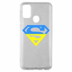 Чохол для Samsung M30s Український Superman