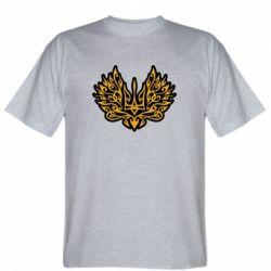 Чоловіча футболка Український тризуб арт