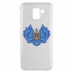 Чохол для Samsung J6 Український тризуб арт
