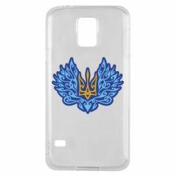 Чохол для Samsung S5 Український тризуб арт