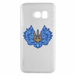 Чохол для Samsung S6 EDGE Український тризуб арт