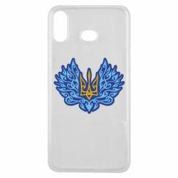 Чохол для Samsung A6s Український тризуб арт