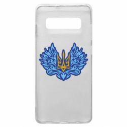 Чохол для Samsung S10+ Український тризуб арт
