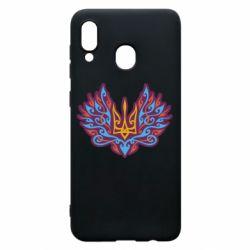 Чохол для Samsung A30 Український тризуб арт