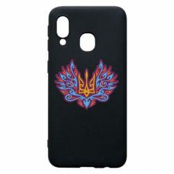 Чохол для Samsung A40 Український тризуб арт