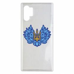 Чохол для Samsung Note 10 Plus Український тризуб арт