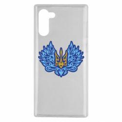 Чохол для Samsung Note 10 Український тризуб арт