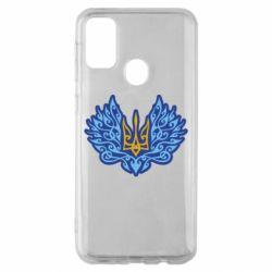 Чохол для Samsung M30s Український тризуб арт