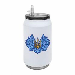 Термобанка 350ml Український тризуб арт