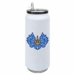 Термобанка 500ml Український тризуб арт