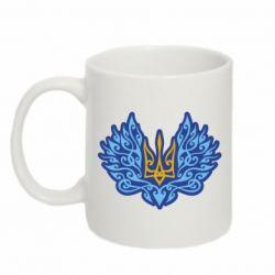 Кружка 320ml Український тризуб арт