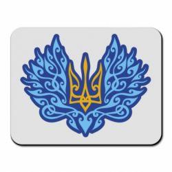 Килимок для миші Український тризуб арт