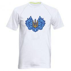 Чоловіча спортивна футболка Український тризуб арт