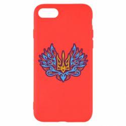 Чохол для iPhone 8 Український тризуб арт