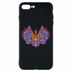 Чохол для iPhone 8 Plus Український тризуб арт