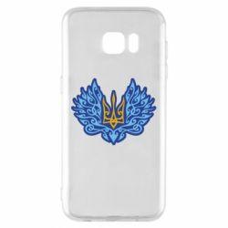 Чохол для Samsung S7 EDGE Український тризуб арт