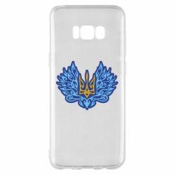 Чохол для Samsung S8+ Український тризуб арт