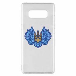 Чохол для Samsung Note 8 Український тризуб арт