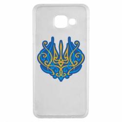 Чохол для Samsung A3 2016 Український тризуб монограма
