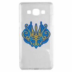 Чохол для Samsung A5 2015 Український тризуб монограма