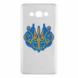 Чохол для Samsung A7 2015 Український тризуб монограма