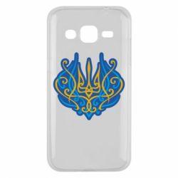 Чохол для Samsung J2 2015 Український тризуб монограма