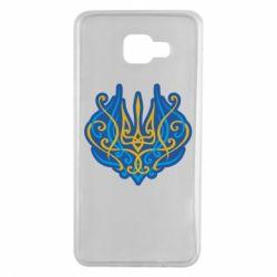 Чохол для Samsung A7 2016 Український тризуб монограма