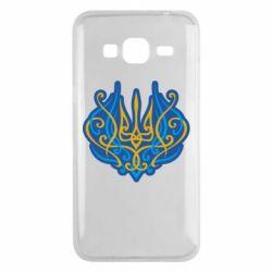 Чохол для Samsung J3 2016 Український тризуб монограма