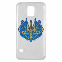 Чохол для Samsung S5 Український тризуб монограма