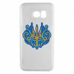 Чохол для Samsung S6 EDGE Український тризуб монограма