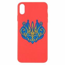 Чохол для iPhone Xs Max Український тризуб монограма