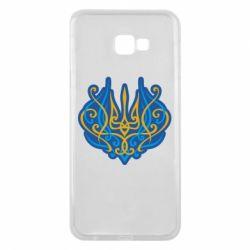 Чохол для Samsung J4 Plus 2018 Український тризуб монограма