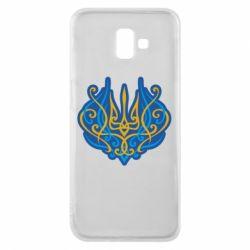 Чохол для Samsung J6 Plus 2018 Український тризуб монограма