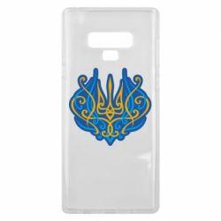 Чохол для Samsung Note 9 Український тризуб монограма