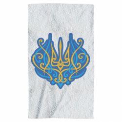 Рушник Український тризуб монограма