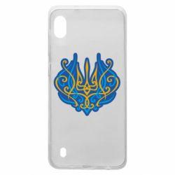 Чохол для Samsung A10 Український тризуб монограма