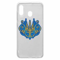 Чохол для Samsung A20 Український тризуб монограма