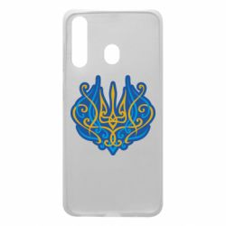 Чохол для Samsung A60 Український тризуб монограма