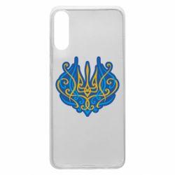 Чохол для Samsung A70 Український тризуб монограма