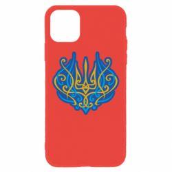 Чохол для iPhone 11 Український тризуб монограма